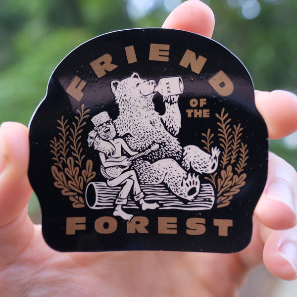 Friend of the Forest Sticker