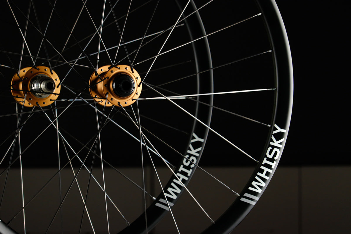 Wheel Build of the Week: Chris King Matte Bourbon ISO / Whisky 36W