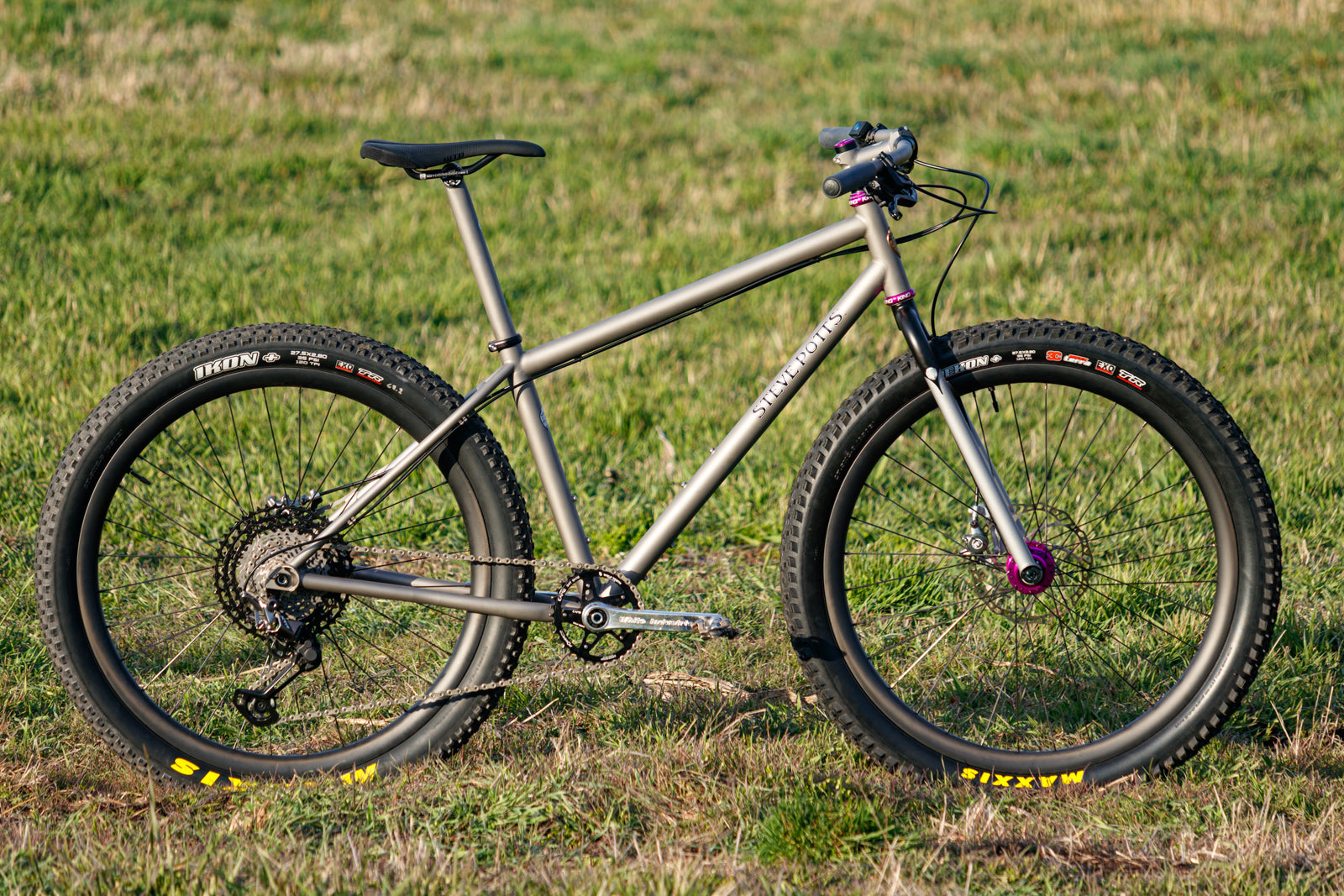 Bling Build: Jordan's Steve Potts Hardtail