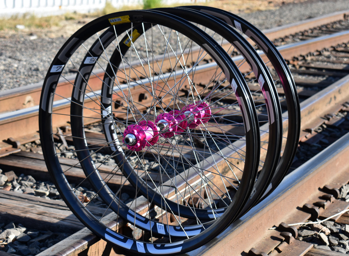 A custom wheelset for when you need a trio of wheels....