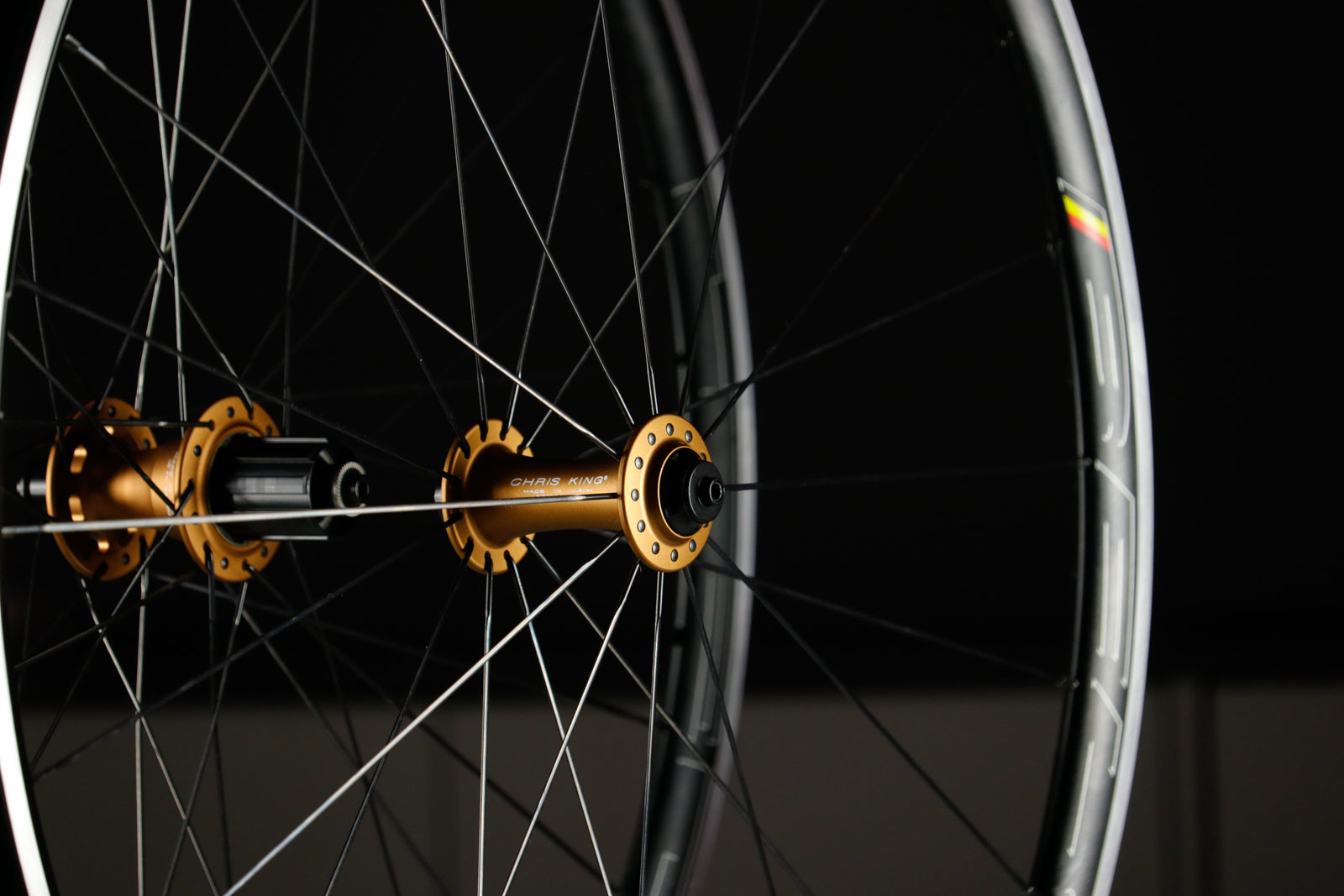 Wheel Build of the Week: Chris King R45 / HED Belgium C2