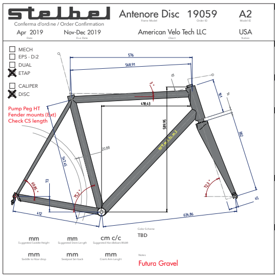 Stelbel Build Part 1; Frame Design & Geometry