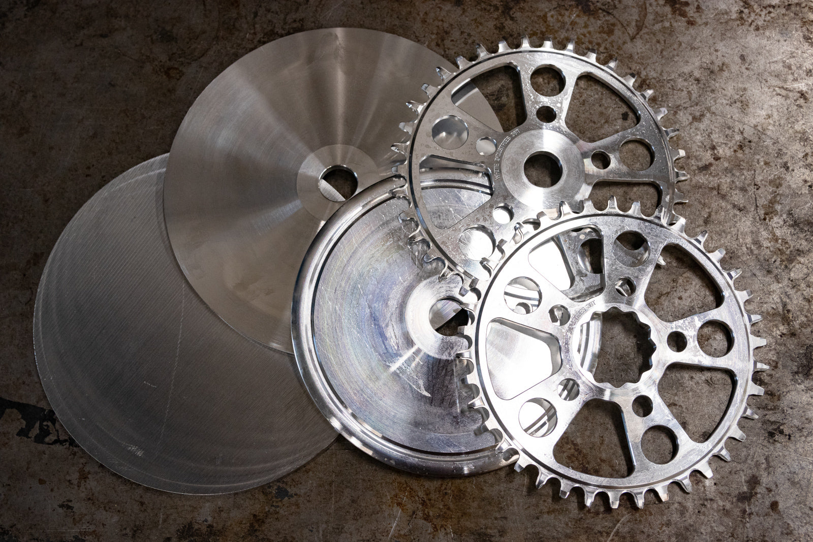 White Industries Chainrings: Made from Scratch in the USA