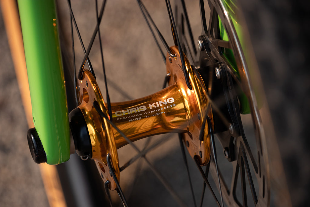 Team Desalvo with Chris King gold R45D hub