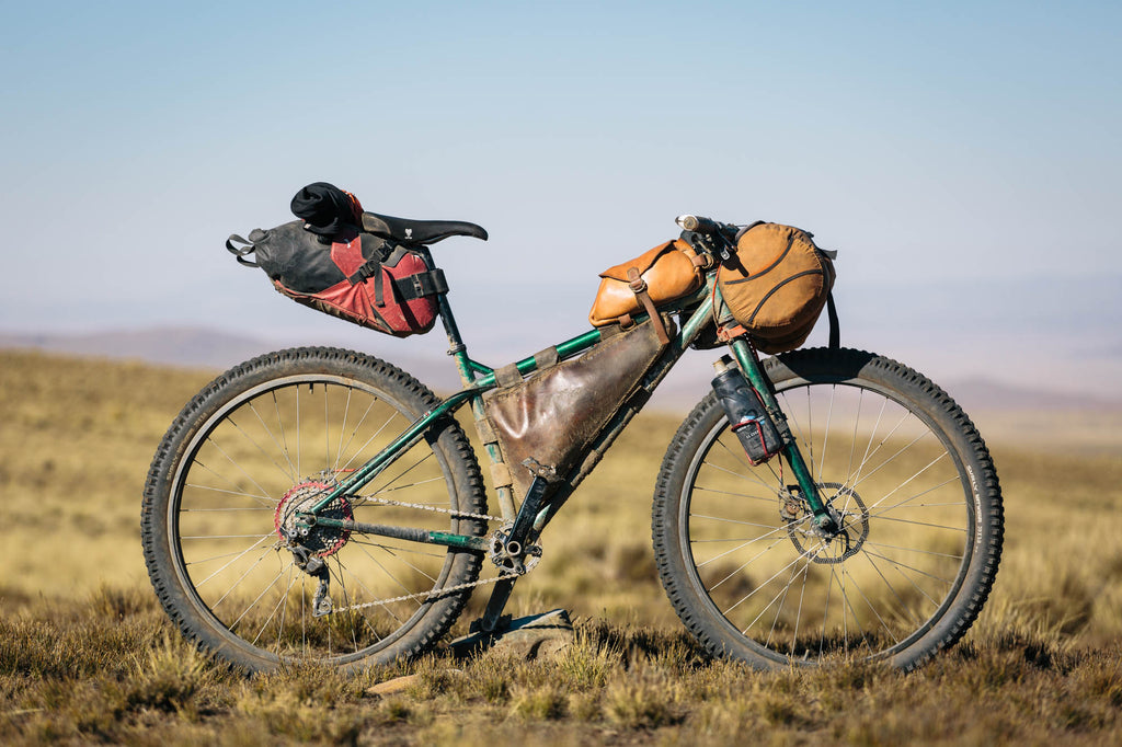 Cass Gilbert's photo of Mathias Dammer's Surly Krampus all kitted out for bikepacking