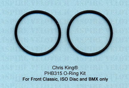 Chris King O-Ring Kit For Chris King Front Classic, ISO Disc, and BMX hubs only