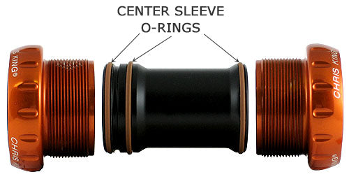 Chris King Bottom Bracket Center Sleeve O-Rings