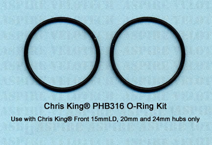 Chris King O-Ring Kit For Chris King 15mmLD, 20mm & 24mm Hubs Only