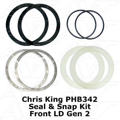 Chris King Seal & Snap Ring Kit for Front LD Generation 2