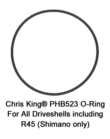 Chris King Driveshell o-ring for PHB721 Bearing Spacer Spring - Shimano Only