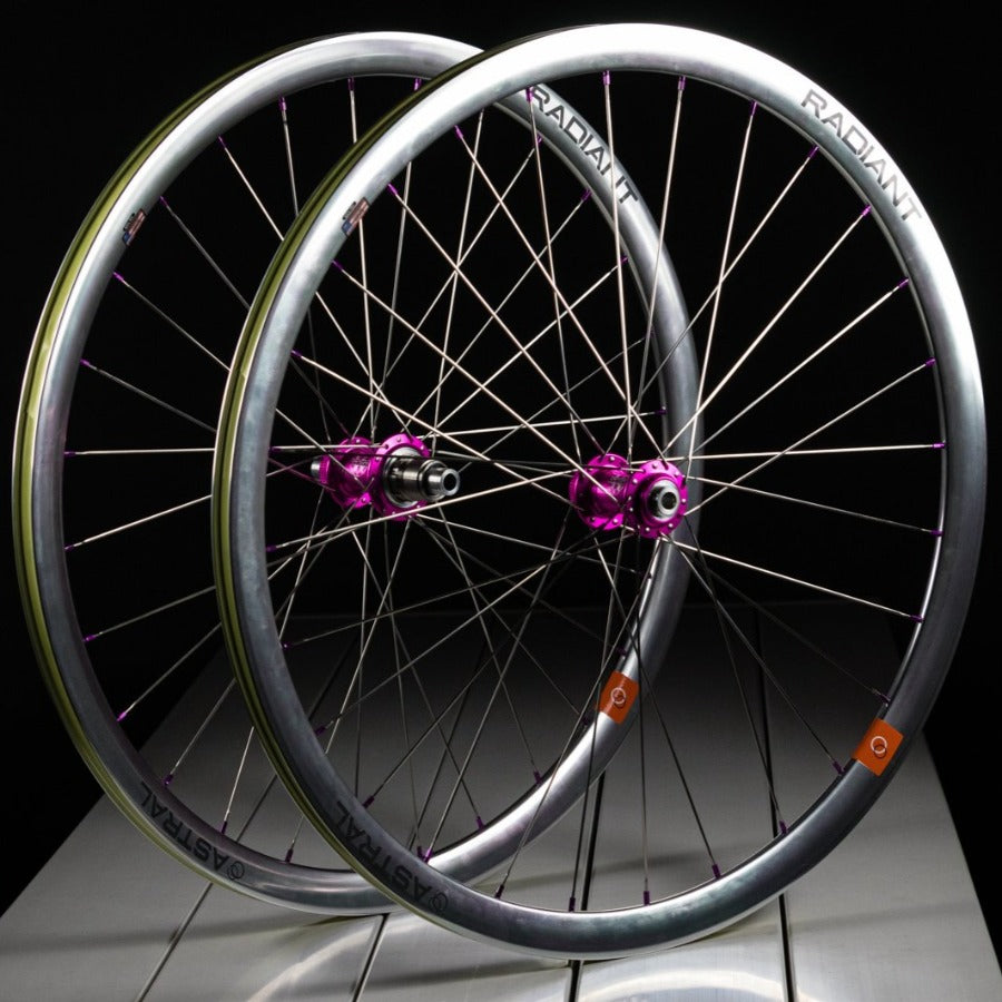 Astral Radiant Disc Ltd Edition Polished Silver Wheelset