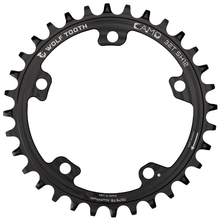 Wolf Tooth / White Industries CAMO Aluminum Round Chainring