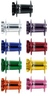 Chris King Front Standard MTB ISO Disc and SD Hubshells (28, 32, 36 hole, all colors)