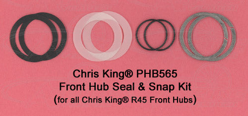 Chris King Seal & Snap Ring Kit For all Chris King Front R45 Hubs