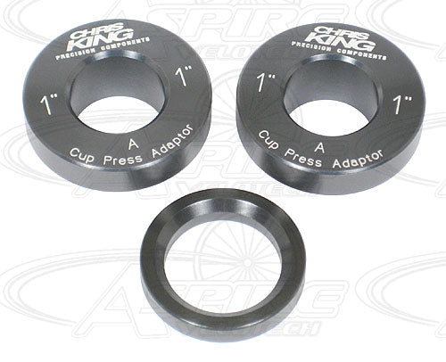 Chris King Headset Press & 24mm Press Fit Bottom Bracket Tool Installation Adapters - 1 inch