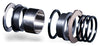 Chris King Bottom Bracket Conversion Kit #19 ThreadFit 24 - Stepped Triple 68mm