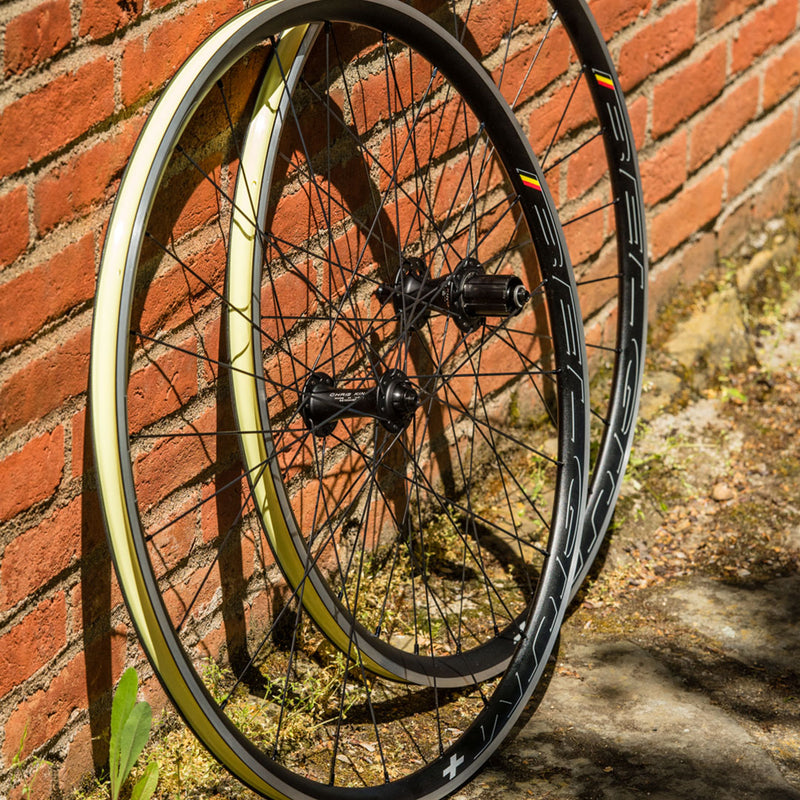 Chris King HED Belgium Plus R45 Rim Brake Wheelset