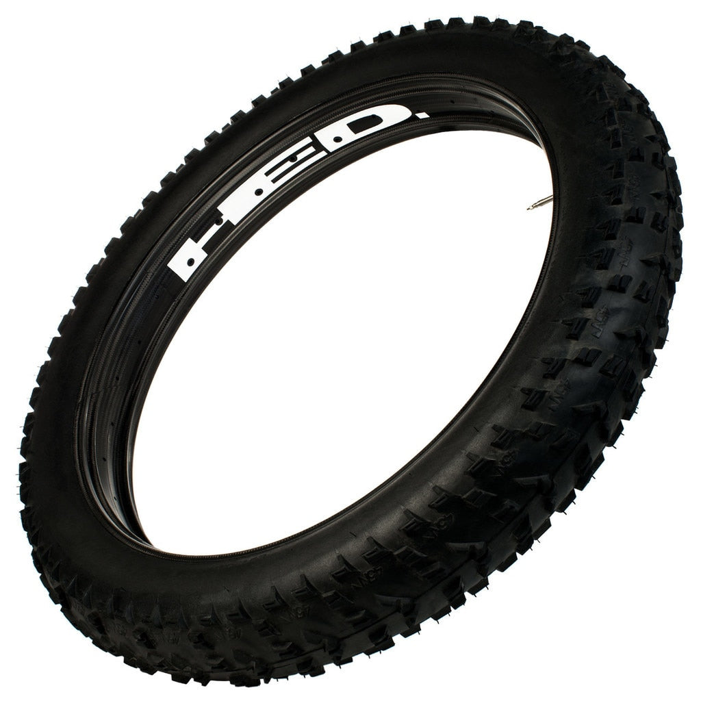 "Hed Big Deal All Carbon Fat Bike Rim, Tubeless 26"" X  85mm Wide 32 Holes (erd 564)"
