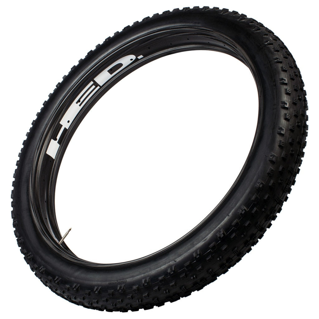 "Hed Big Half Deal All Carbon Fat Bike Rim, Tubeless Carbon 27.5"" X 85mm Wide 32 Holes 584 Erd"