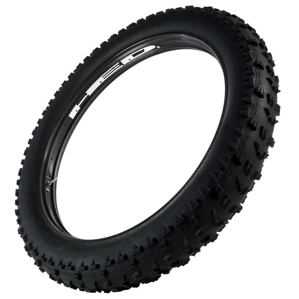 "Hed No Big Deal All Carbon Fat Bike Rim, Tubeless 26"" X  65mm Wide 32 Holes"