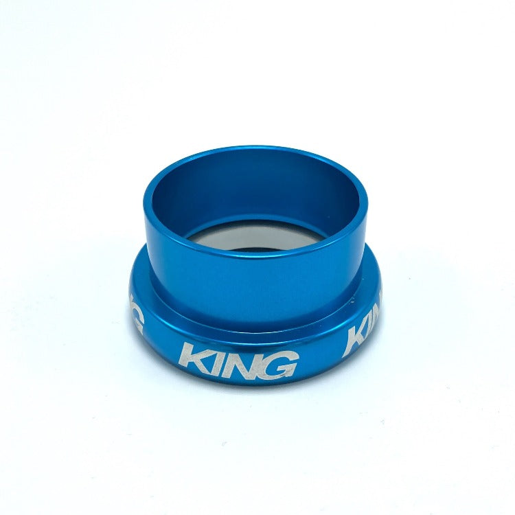 "Chris King InSet 5 Lower Bearing Cup - Turquoise. 49mm. 1-1/2"" #"