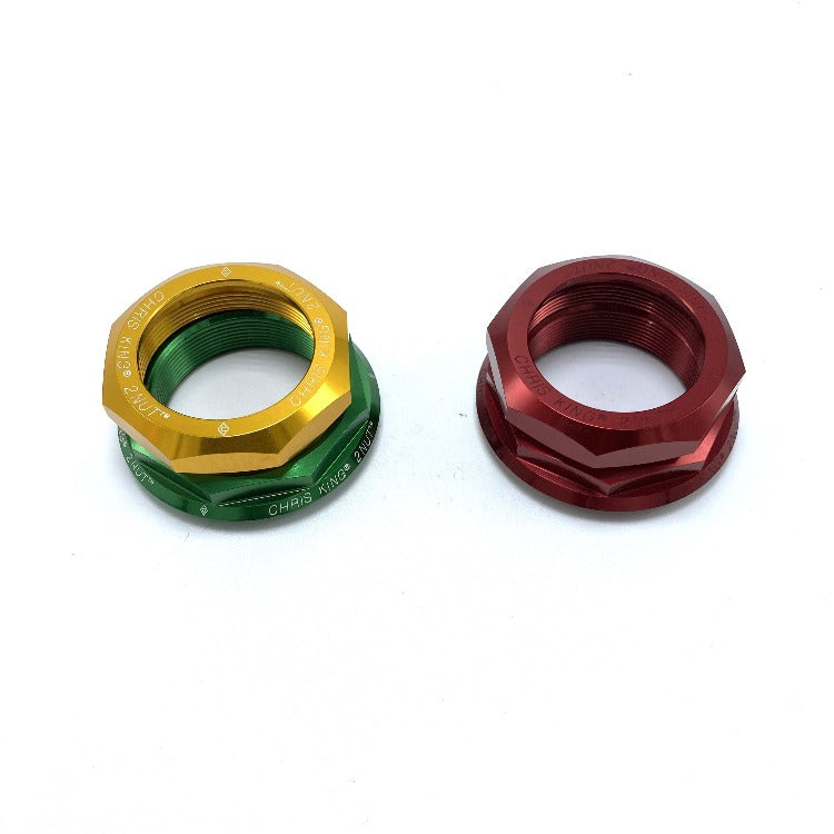 "Chris King 1-1/4"" 2 Nut Conversion Kit. Red SV or Green/Gold Only"
