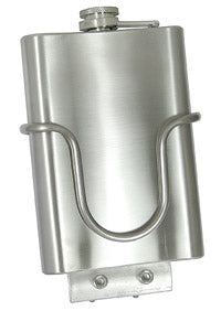 King Cage MUD Flask - Stainless steel flask and mounting cage