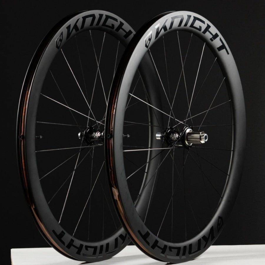 Knight Composites TLA Carbon / White Industries Disc Wheelset