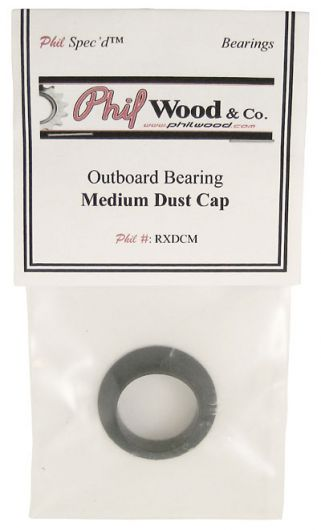 Phil Wood Outboard Bottom Bracket Bearing Dust Cover / Plastic Axle Support - Medium