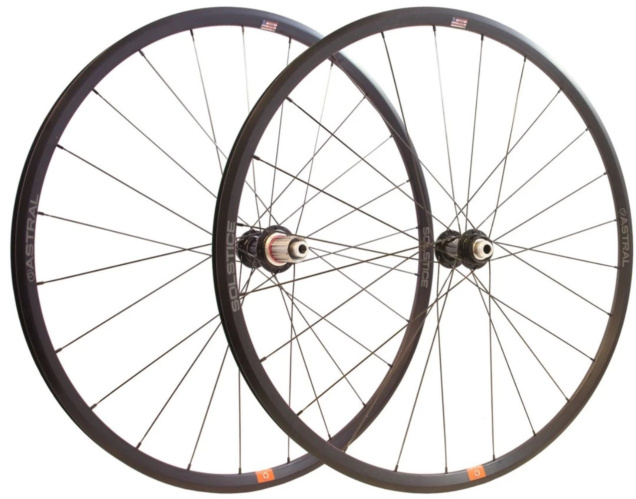 Astral Solstice / White Industries Road Wheelset (Disc or Rim Brake)