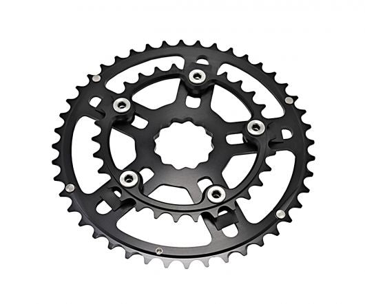 White Industries Variable Bolt Circle (VBC) Double Chainring