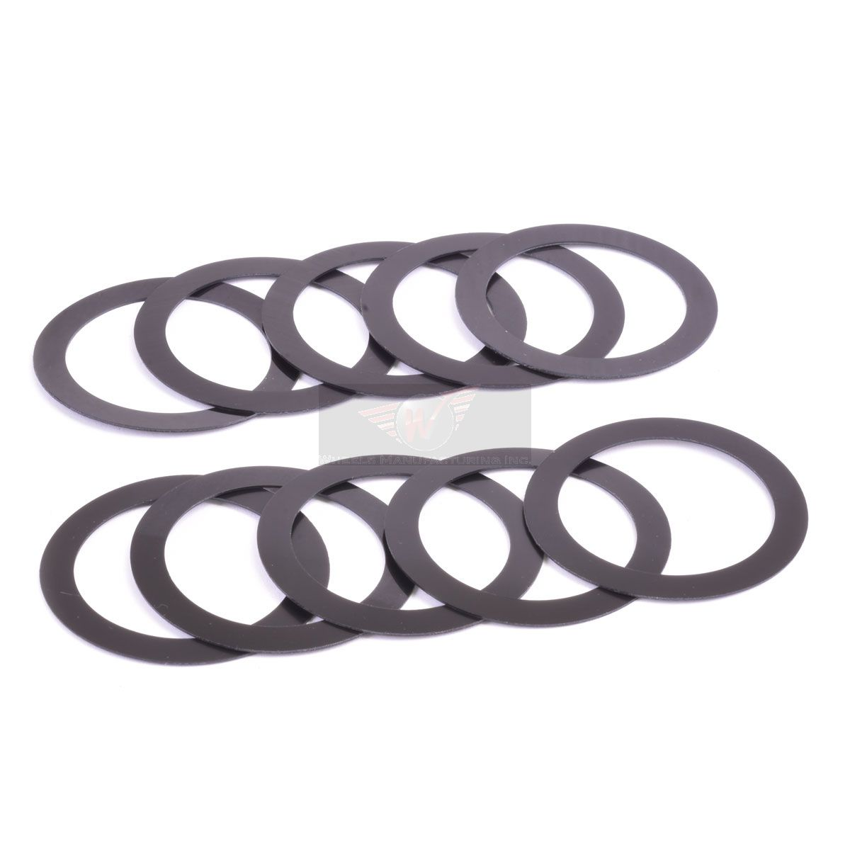 New Wheels Manufacturing 0.5mm Spacers for 24mm Spindles Pack//10