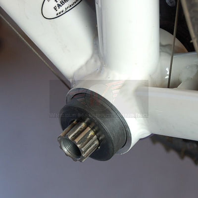 Install Crank Through Adapters.