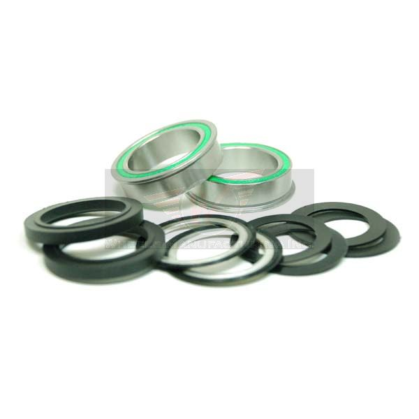 BB86 to 30MM Kit for CERAMIC  PressFit 86/92 Bottom Bracket with Flanged, Ceramic Dual Row Stainless Steel Sealed Bearing