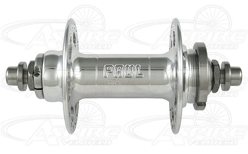 Paul Components High Flange Rear Hub, Single Side Fixed - 120mm, Bolt-On, 36 hole Polished