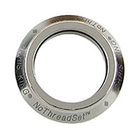 Chris King Headset Bearing Cap - 1 Inch, Titanium, Sotto Voce Logo