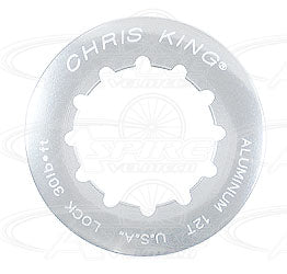 Chris King Lock Ring - Aluminum, 12t, Shimano