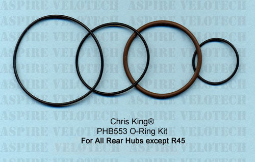 Chris King O-Ring Kit For Chris King Rear Classic, ISO Disc, Single Speed & BMX Hubs only