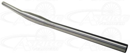 Ti Cycles Titanium Handlebar, 705mm, 5 degree bend