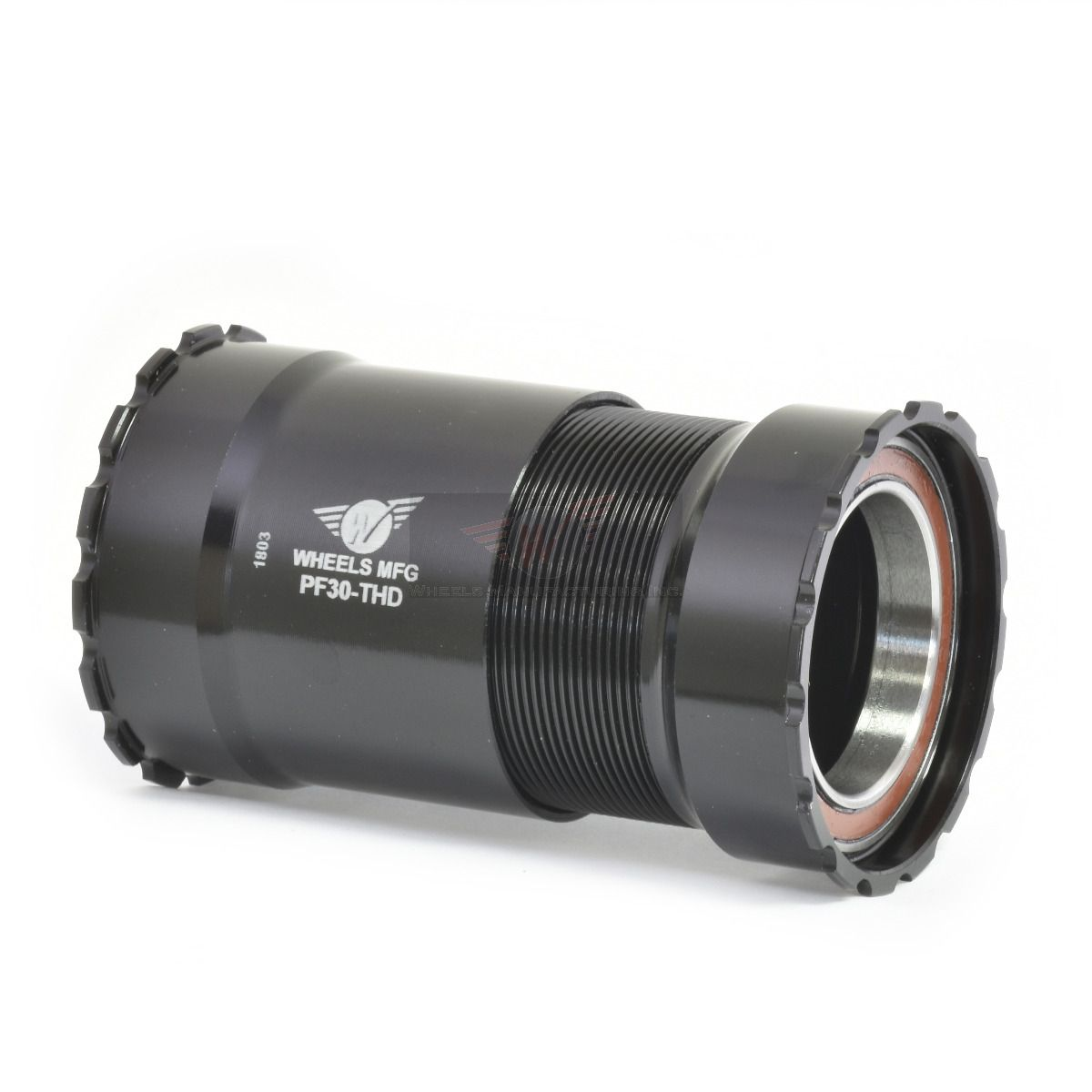 Black - w/ Angular Contact Bearings, PressFit 30 Threaded Bottom Bracket