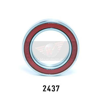 Enduro 24 x 37 Angular Contact, 2RS, Sealed Bearing Note: Install bearing with red seal facing outwards