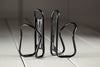 Ltd Edition SILCA Sicuro Titanium Bottle Cage - CERAKOTE BLACK PAIR