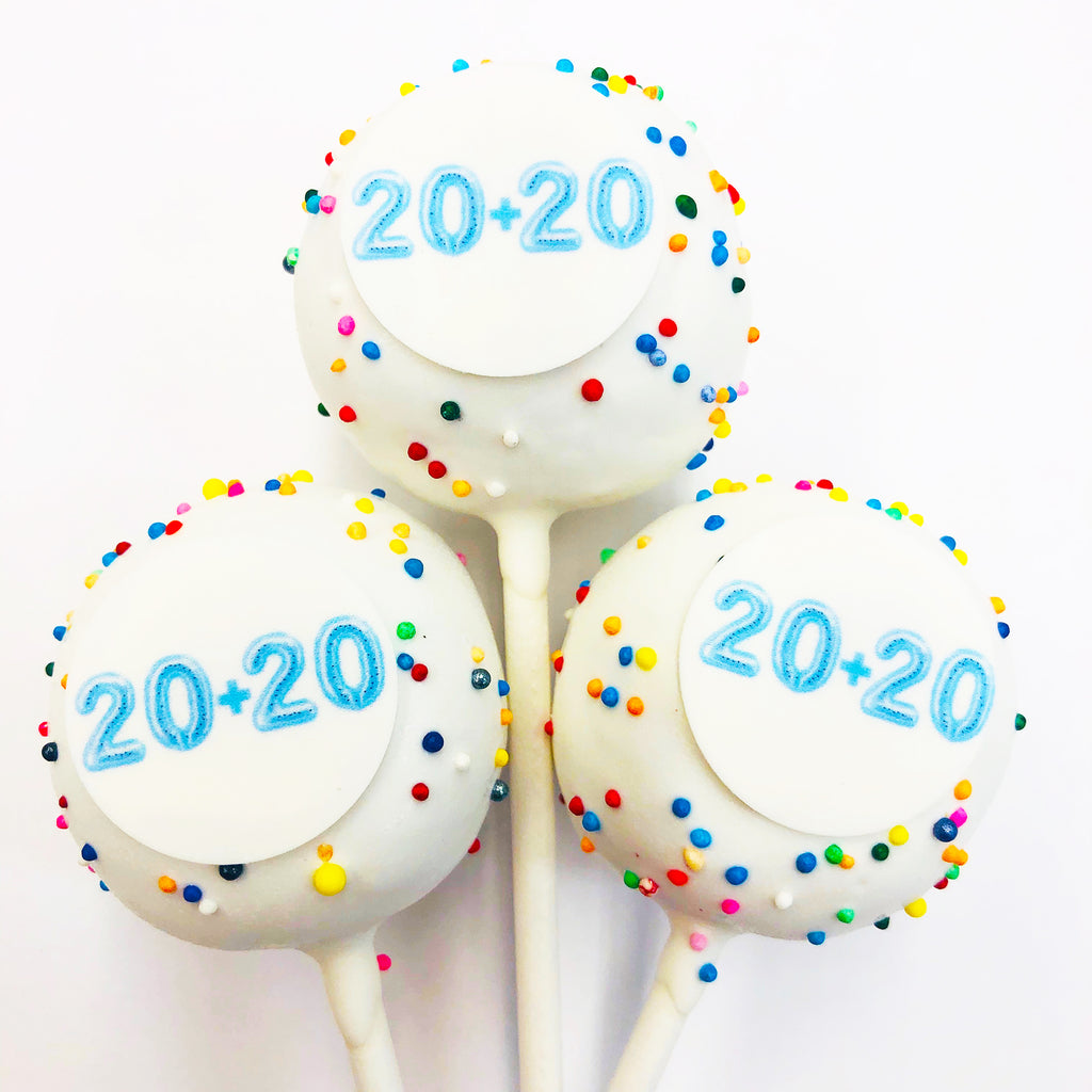 20+20 BIRTHDAY CAKE POPS