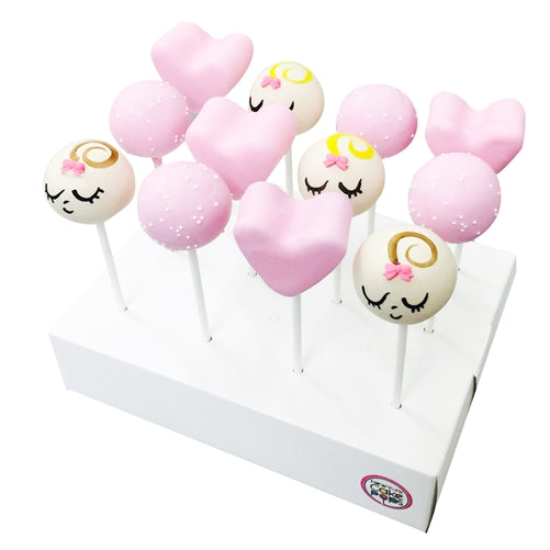 Dozen Baby Girl Shower Cake Pops