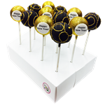 NEW YEARS CAKE POPS