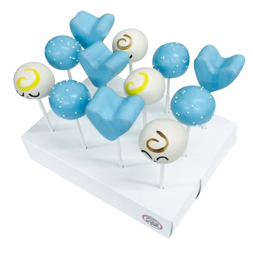 Dozen Boy Baby Shower Cake Pops