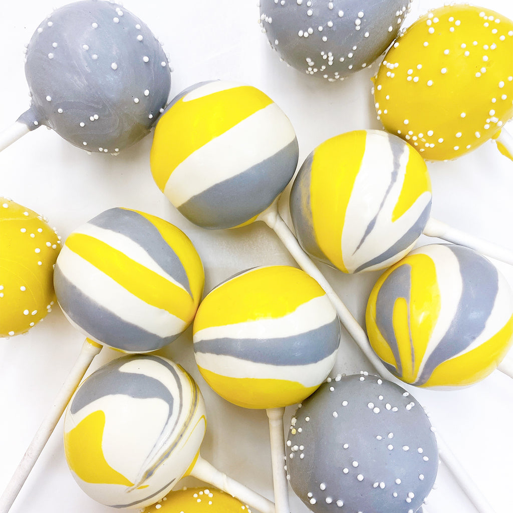 COLOR OF THE YEAR CAKE POPS