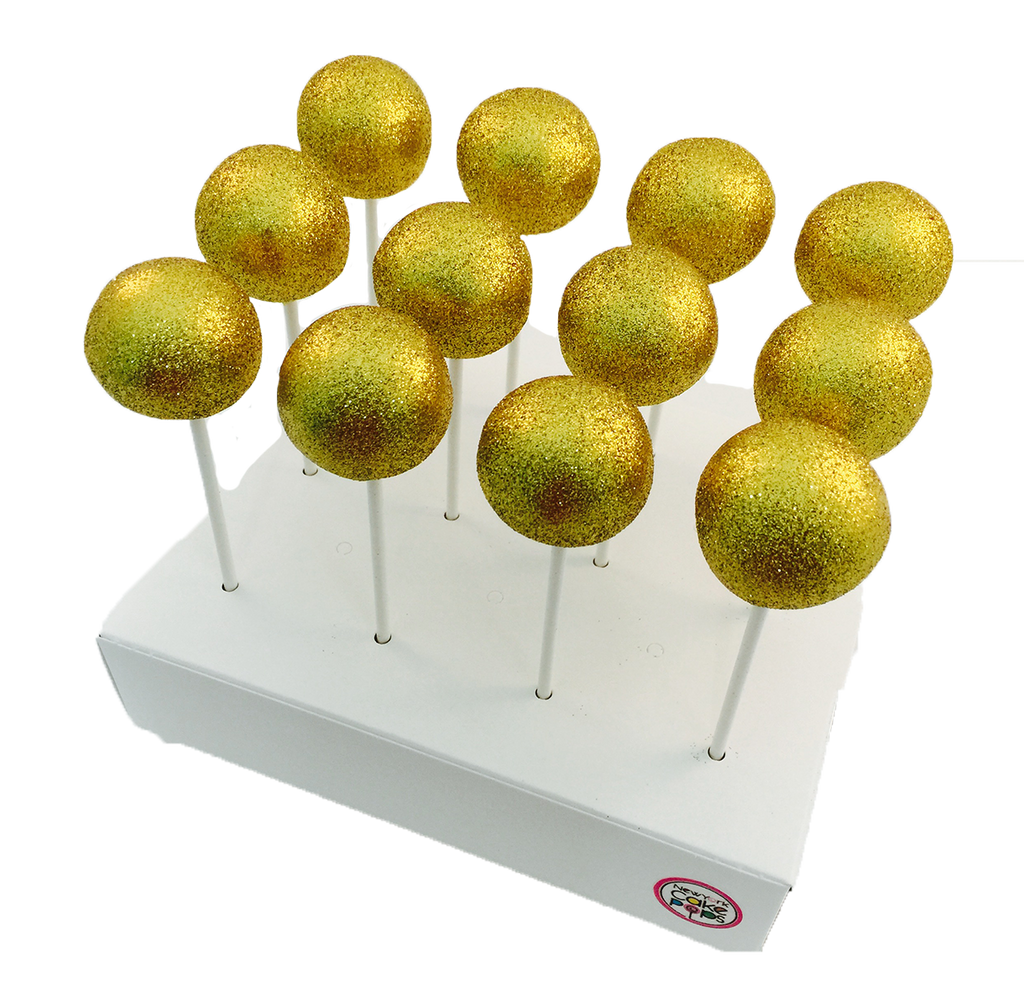 Glittered Disco Cake Pops