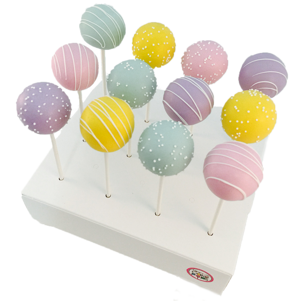 Dozen Pastel Cake Pop Assortment