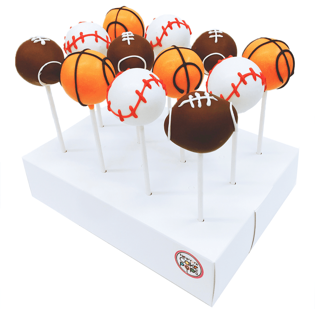 Sport Shaped Cake Pops